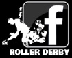 Roller Derby bei Facebook